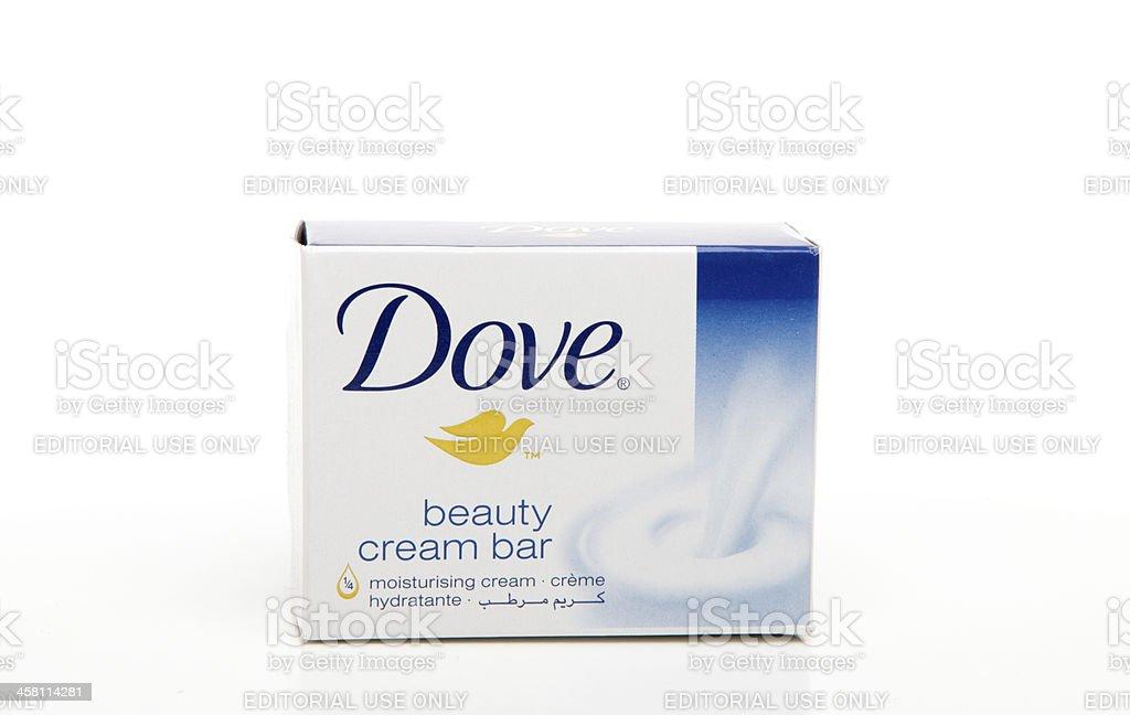 Dove Original beauty cream bar soap stock photo