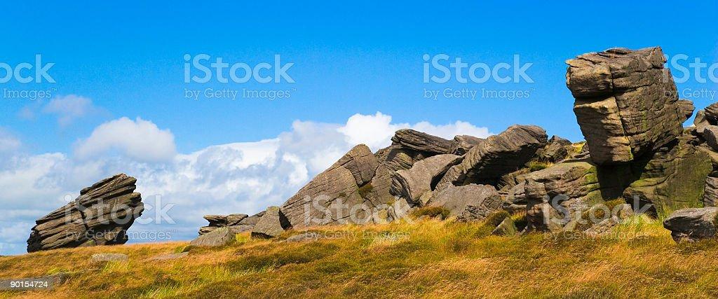 Dove Stones Panorama royalty-free stock photo