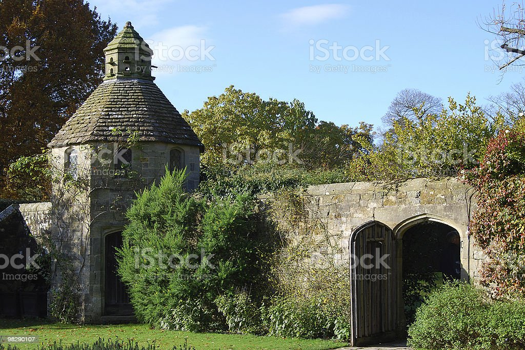 Dovecote at Nymans Gardens, West Sussex, England royalty-free stock photo