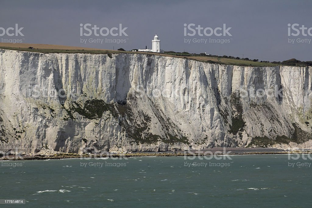 Dover Cliffs Top stock photo