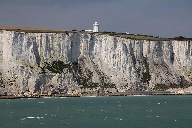 Dover Cliffs Top stock photo