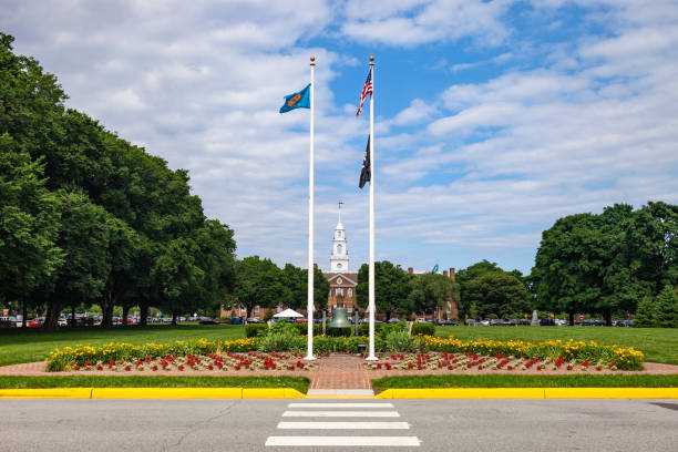 Dover, Delaware Capital stock photo