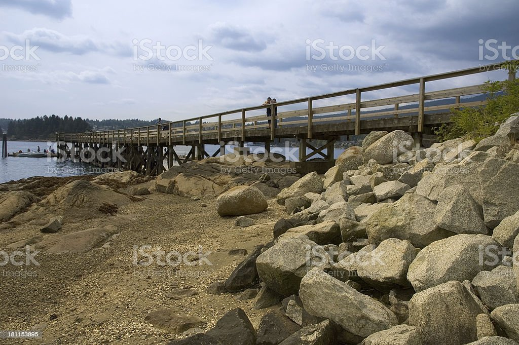 Down At The Boardwalk royalty-free stock photo