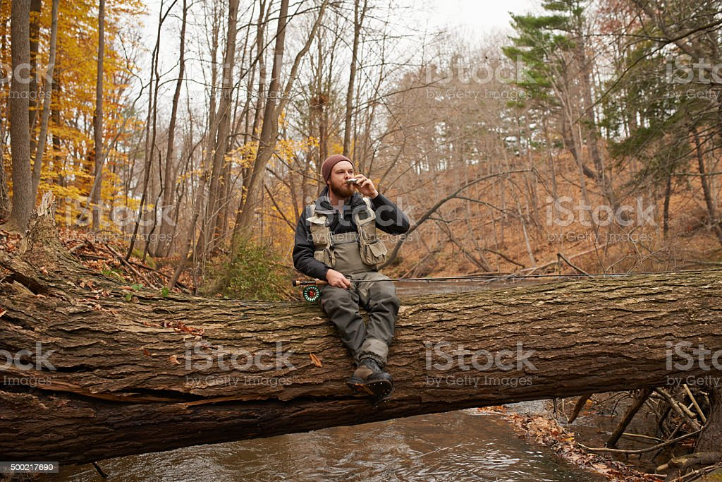 Down by the river… stock photo