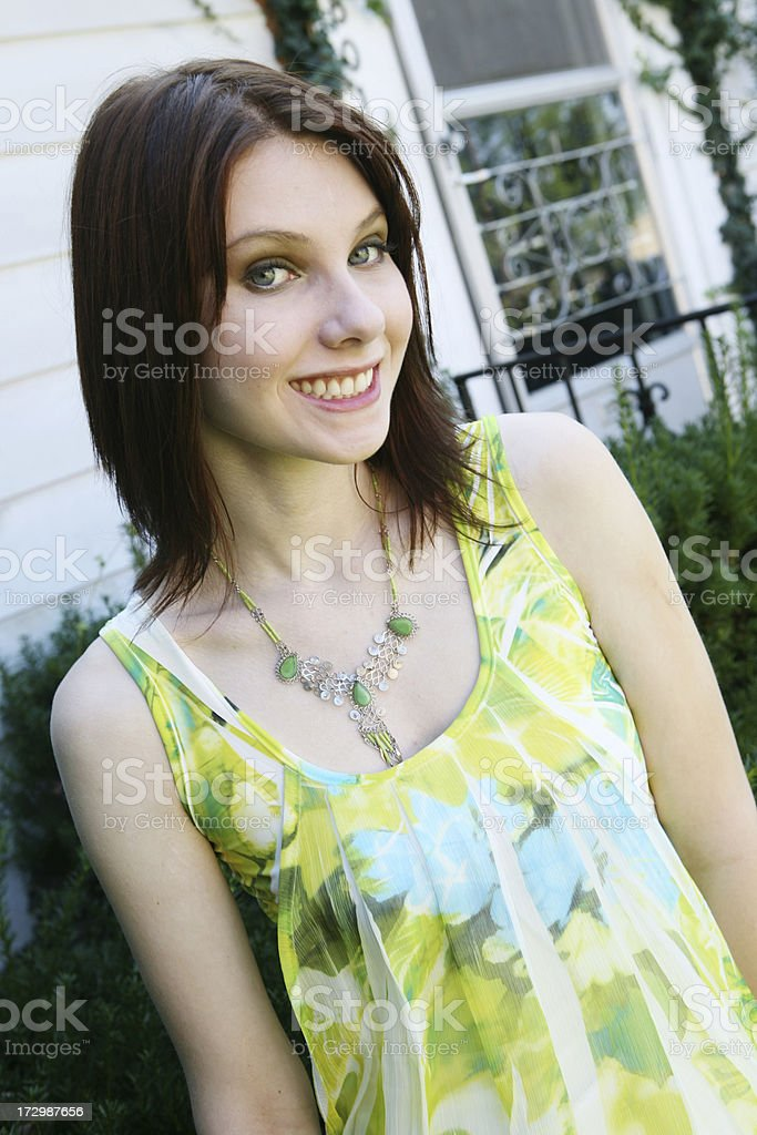 Down Home Smile royalty-free stock photo