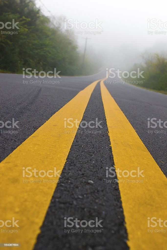Down the Road royalty-free stock photo