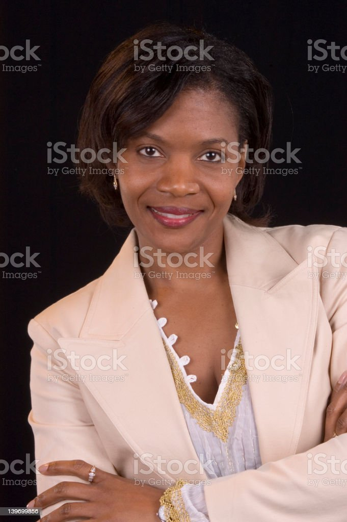 Down to business stock photo