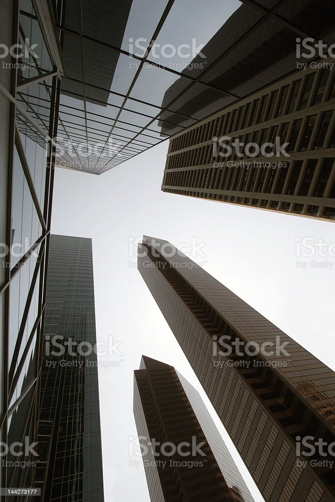 Down town royalty-free stock photo
