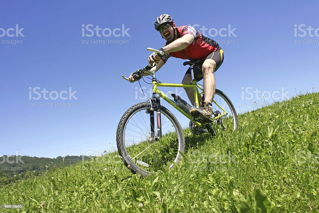 downhill 2 royalty-free stock photo