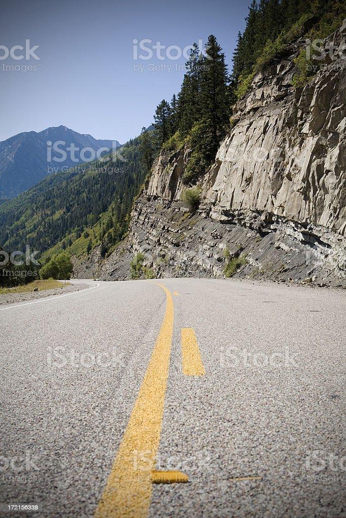 Downhill royalty-free stock photo