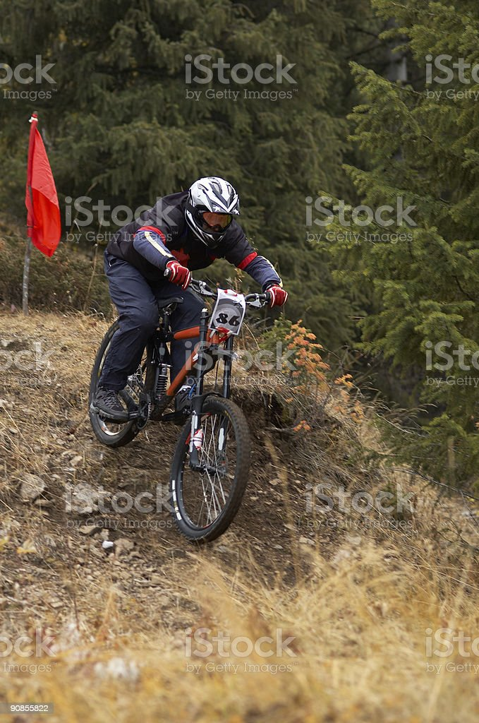Downhill royalty-free stock photo