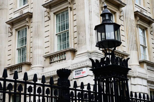 Downing Street, London - England. – Foto