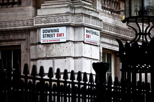 Downing Street Foto de stock y más banco de imágenes de 10 Downing Street