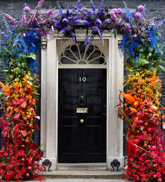10 Downing Street Regenbogen – Foto