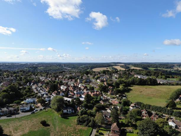 Downley Village Downey Village buckinghamshire stock pictures, royalty-free photos & images