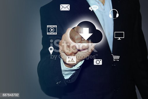 184640907istockphoto Download Documents from Cloud 537543702