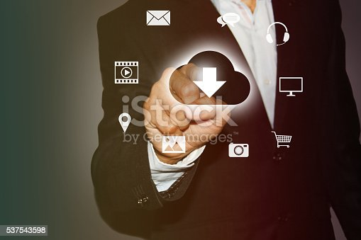 184640907istockphoto Download media files from Cloud 537543598