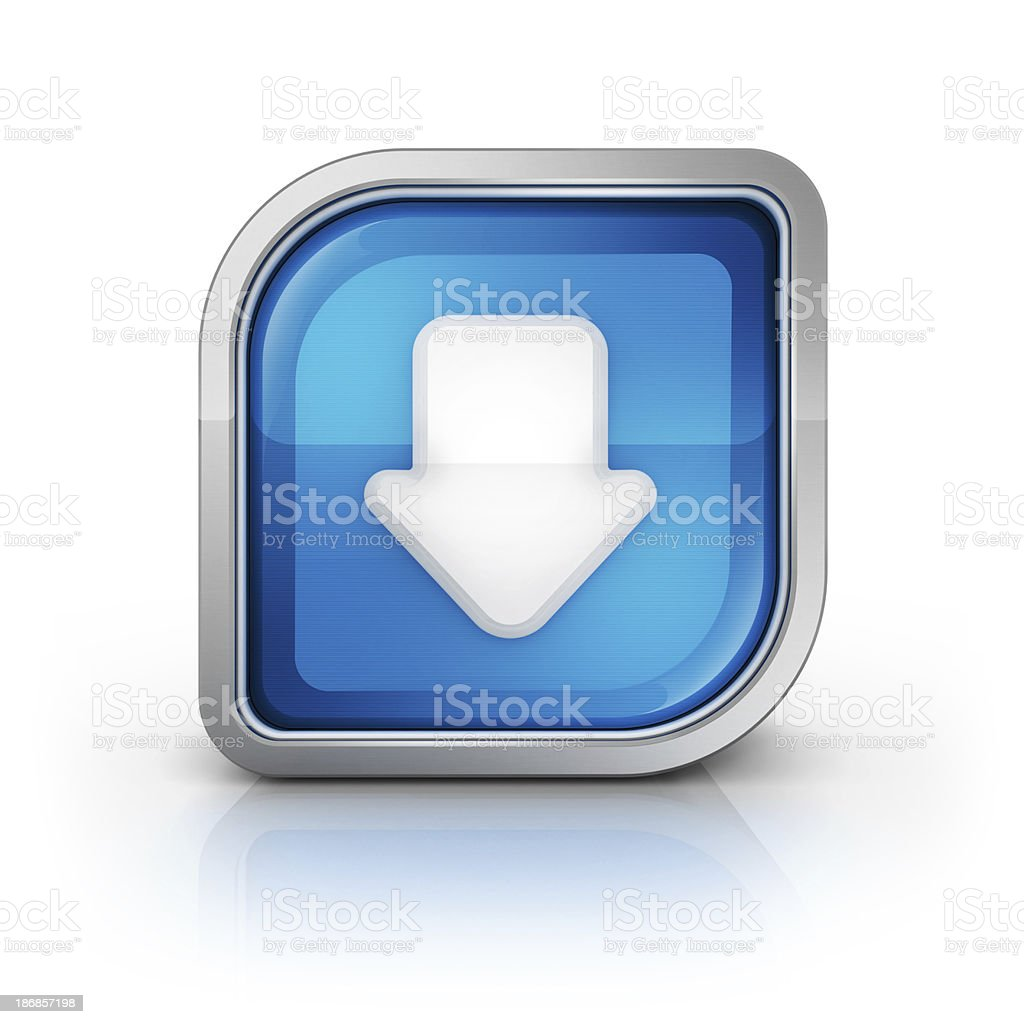 download or install icon royalty-free stock photo