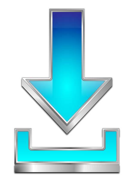 Download Symbol - 3D illustration stock photo