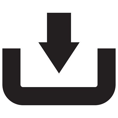 istock Download Upload Icon 801261176