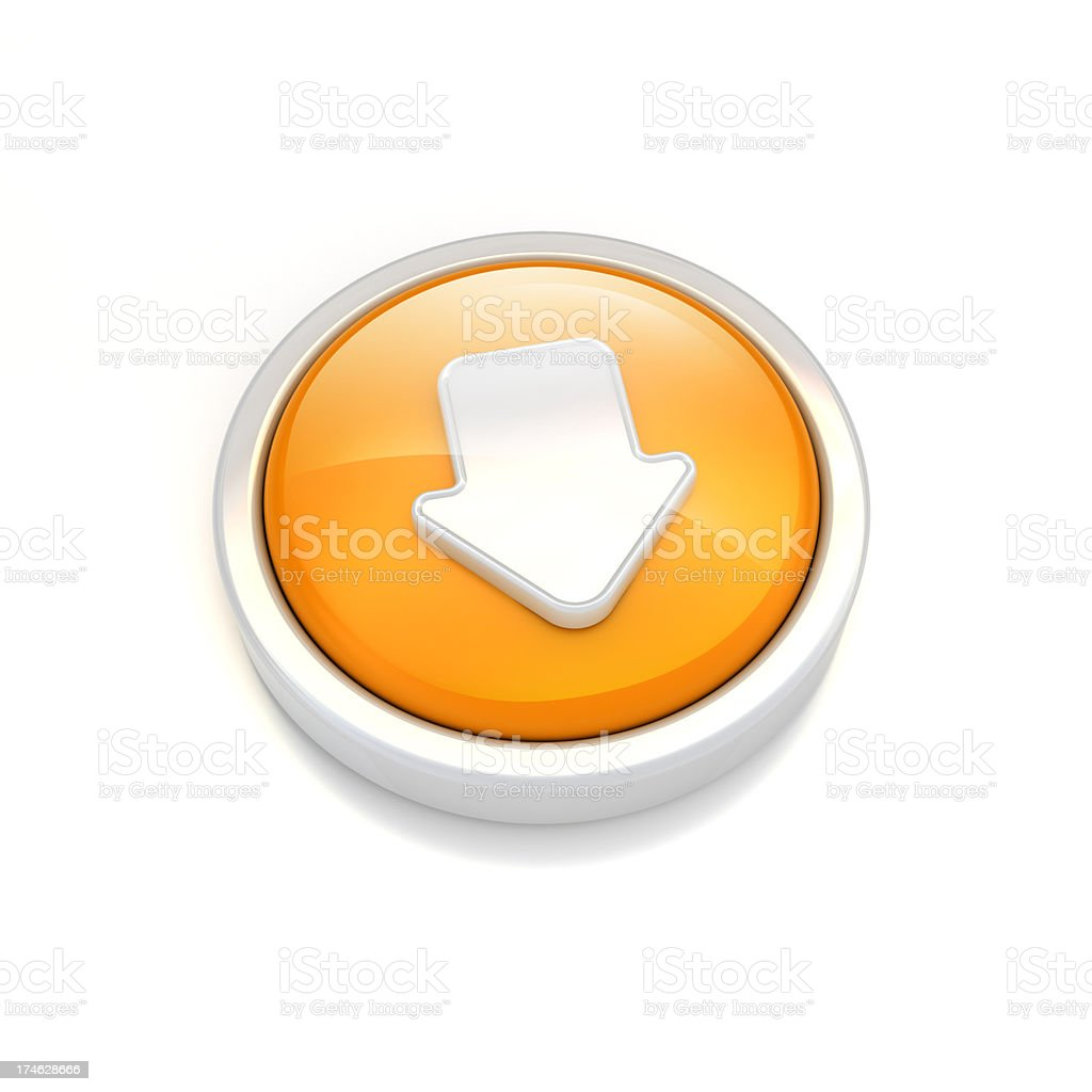 downloading icon.. royalty-free stock photo