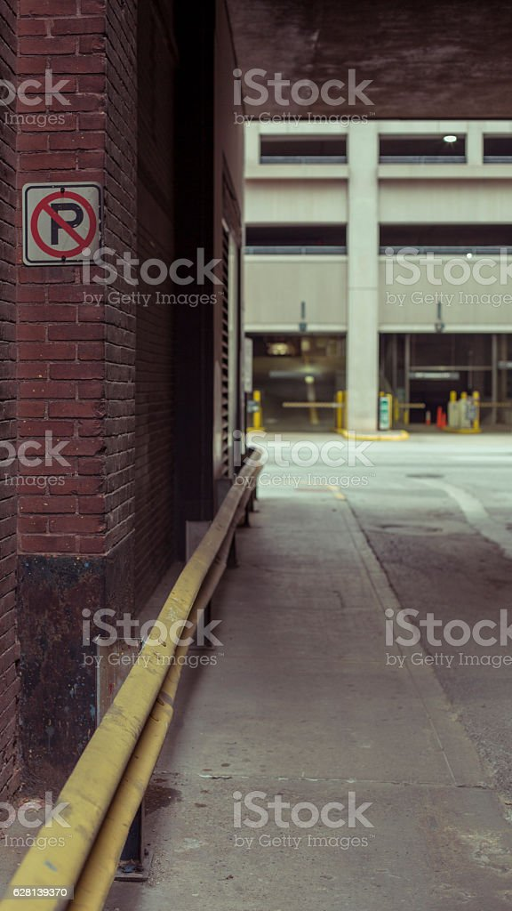 Downtown Alley Royalty Free Stock Photo