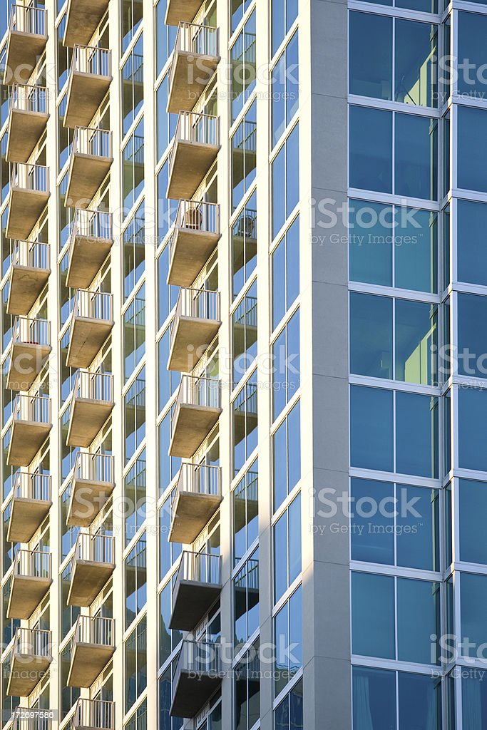 Downtown Architecture royalty-free stock photo