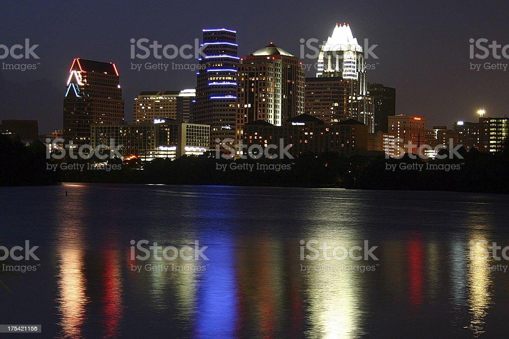 Downtown Austin Skyline stock photo