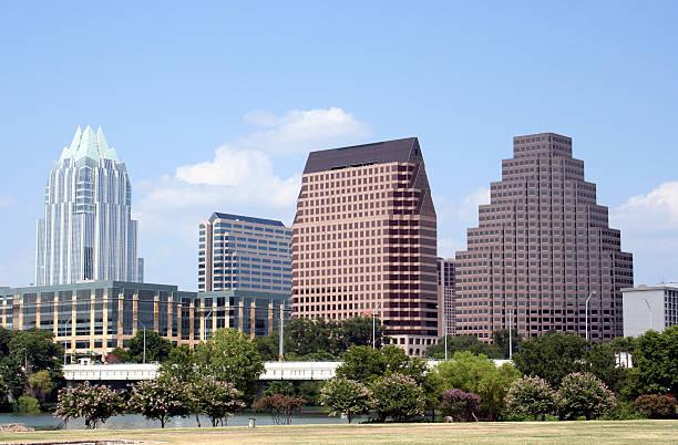 Downtown Austin, Texas stock photo
