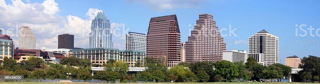 O centro de Austin, Texas - Foto de stock de Alto - Descrição Geral royalty-free