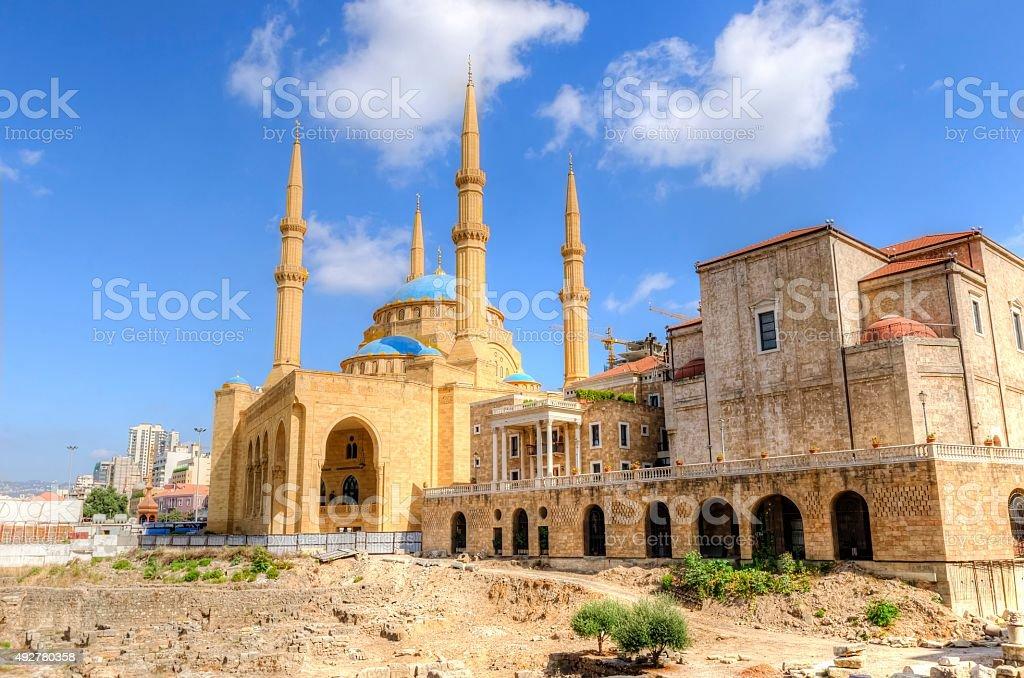 Downtown Beirut, Lebanon stock photo