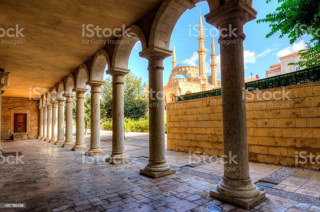 Downtown Beirut, Lebanon (4) stock photo