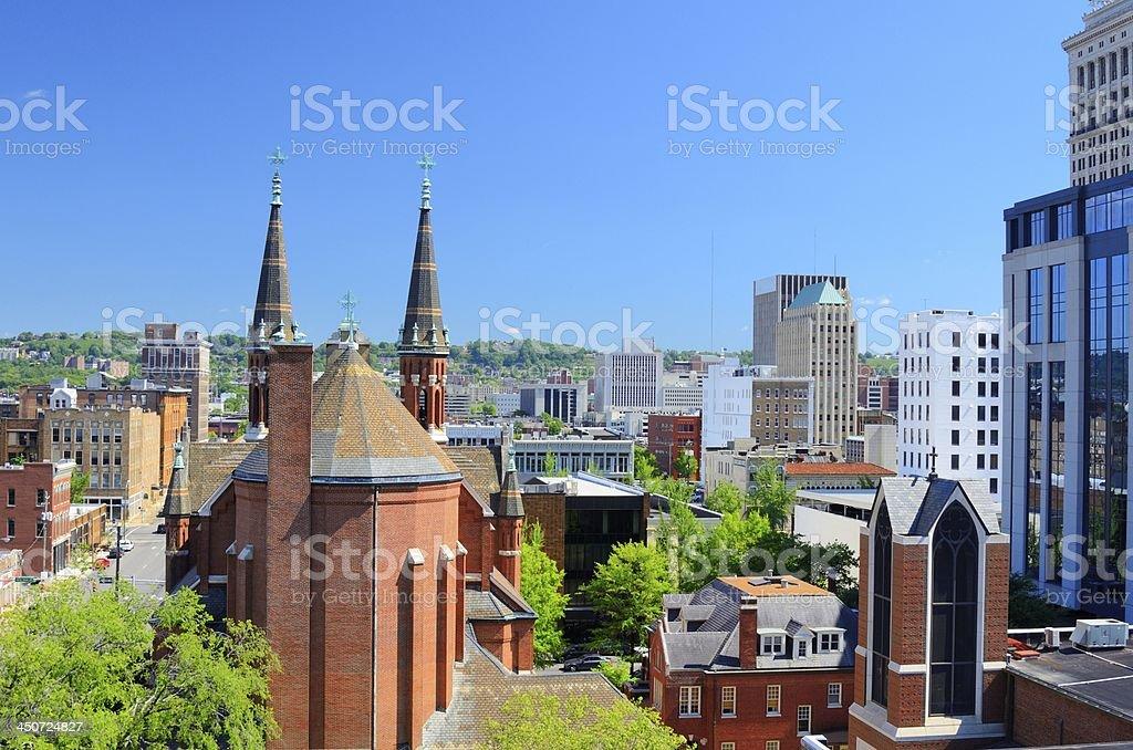 Der Innenstadt von Birmingham, Alabama – Foto