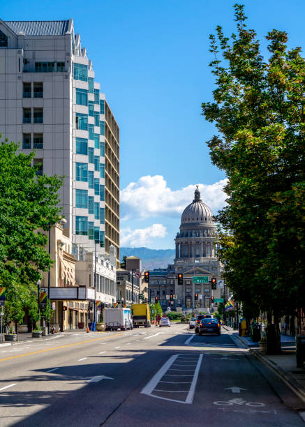 Die Innenstadt von Boise - Capitol Blvd – Foto