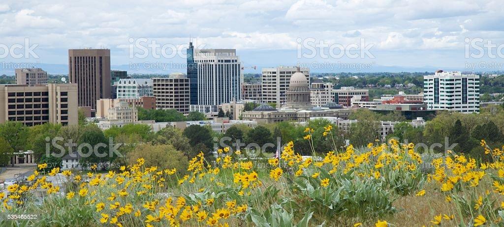 Downtown, Boise, Idaho stock photo
