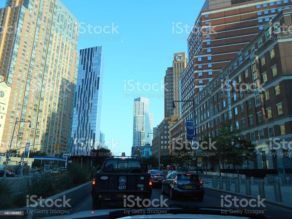 Downtown Brooklyn NY stock photo