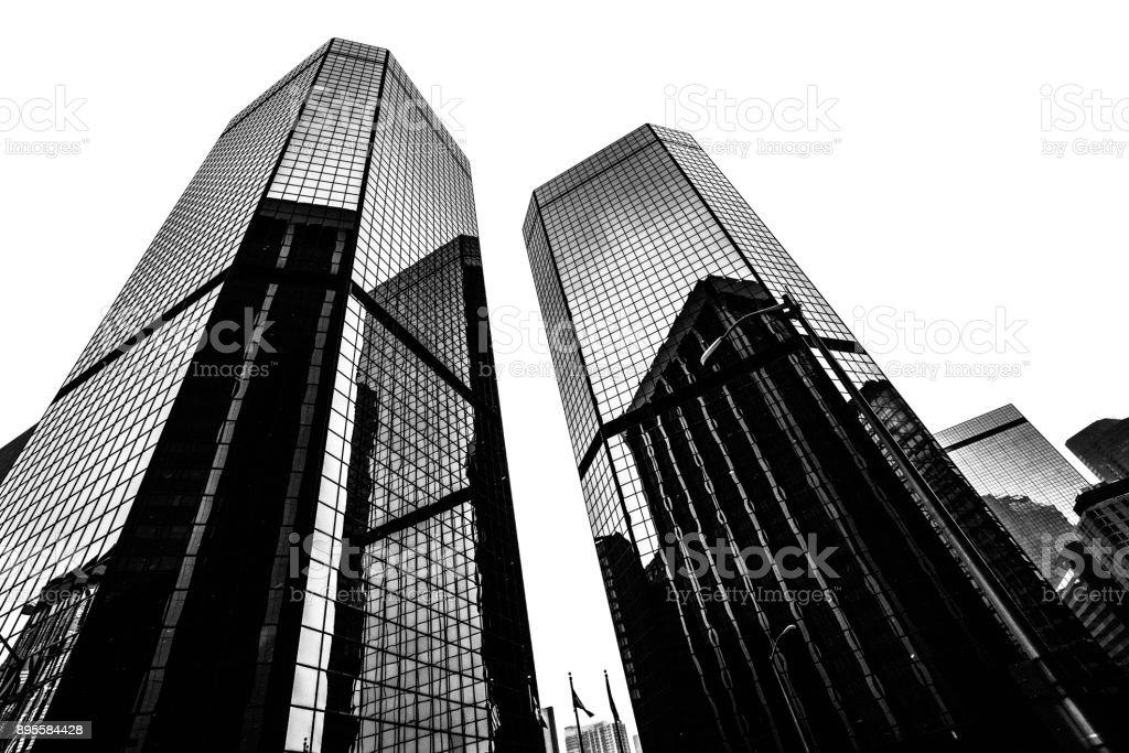 Downtown buildings - Denver, Colorado stock photo