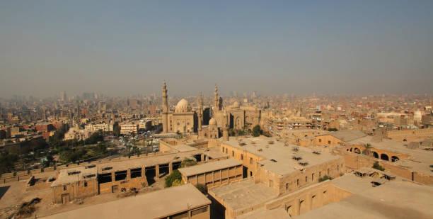 Downtown Cairo Egypt stock photo