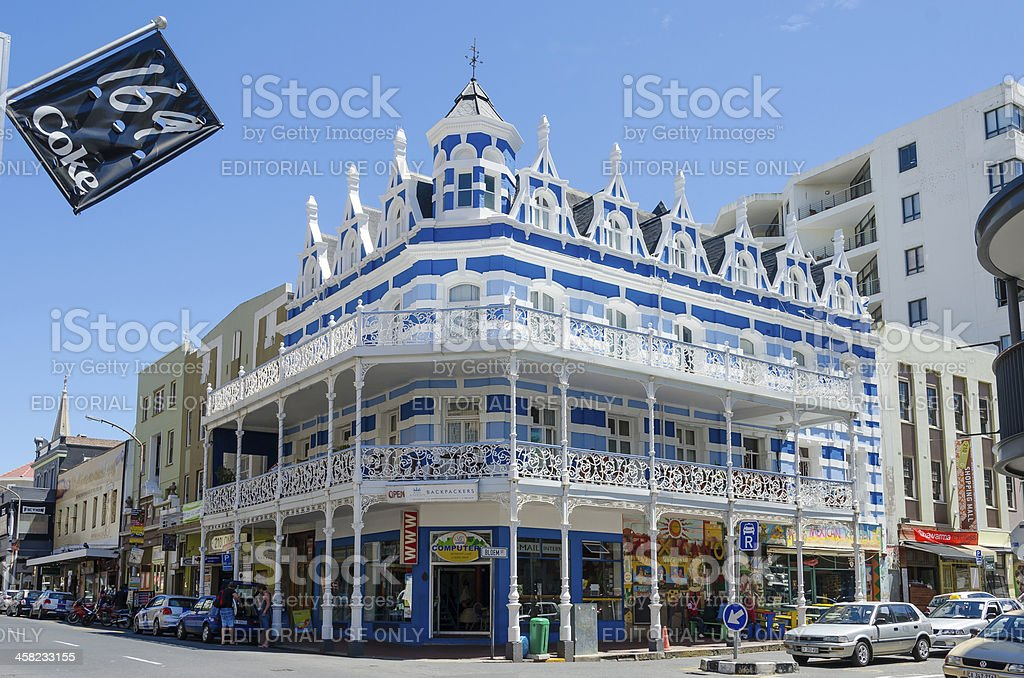 Downtown Cape Town Architecture royalty-free stock photo