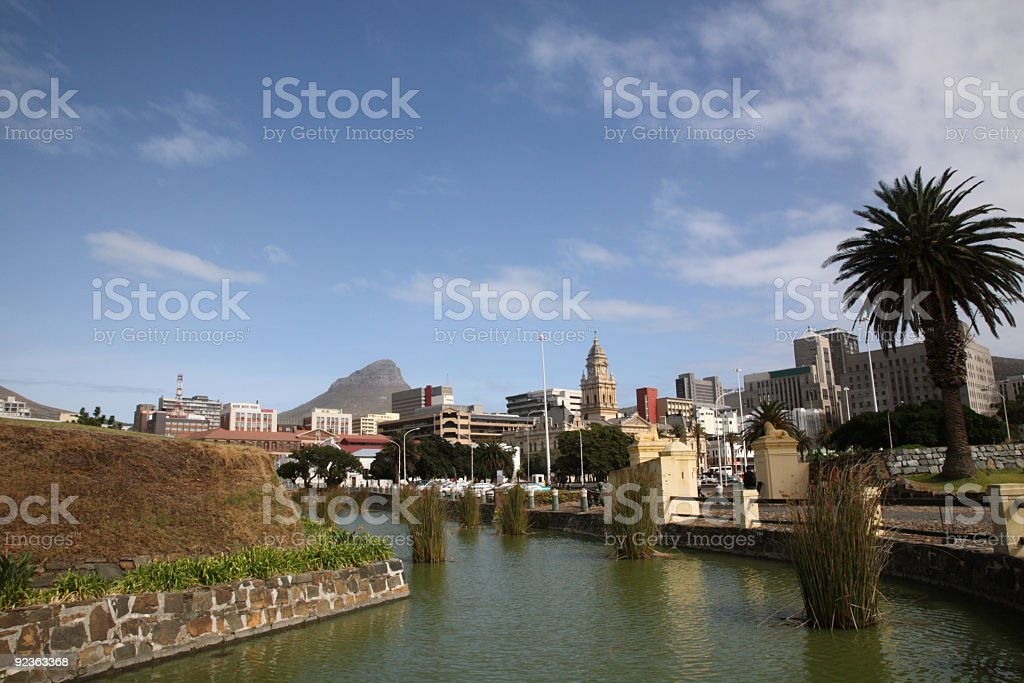 Downtown Cape Town royalty-free stock photo