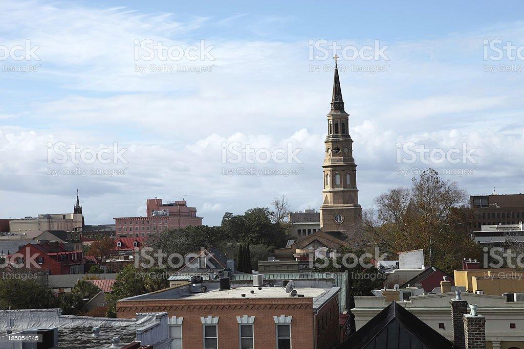 Downtown Charleston royalty-free stock photo