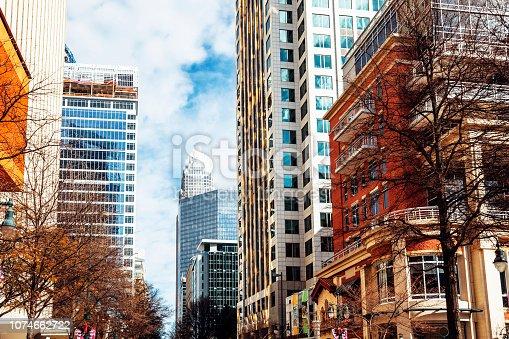 Downtown Charlotte, North Carolina, USA