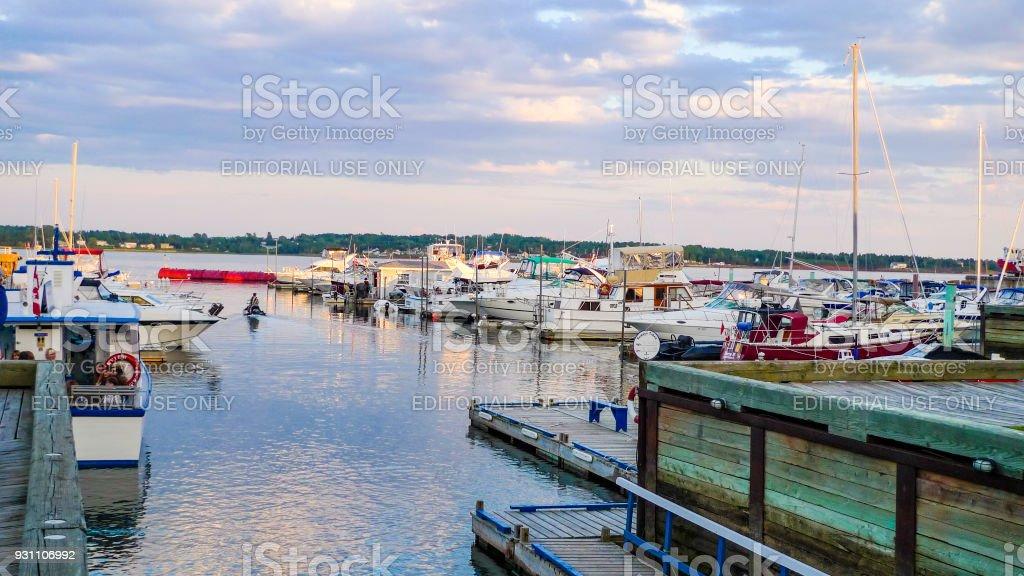 Şehir merkezindeki Charlottetown - Royalty-free Ada Stok görsel