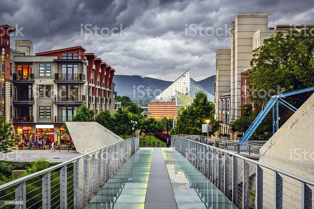 Downtown Chattanooga royalty-free stock photo