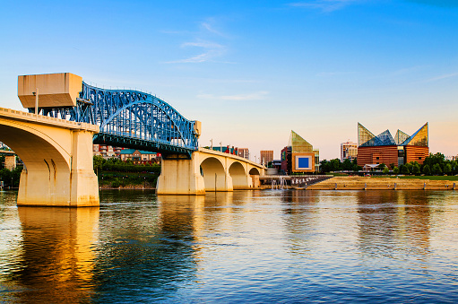 Downtown Chattanooga Tennessee Stock Photo - Download Image Now