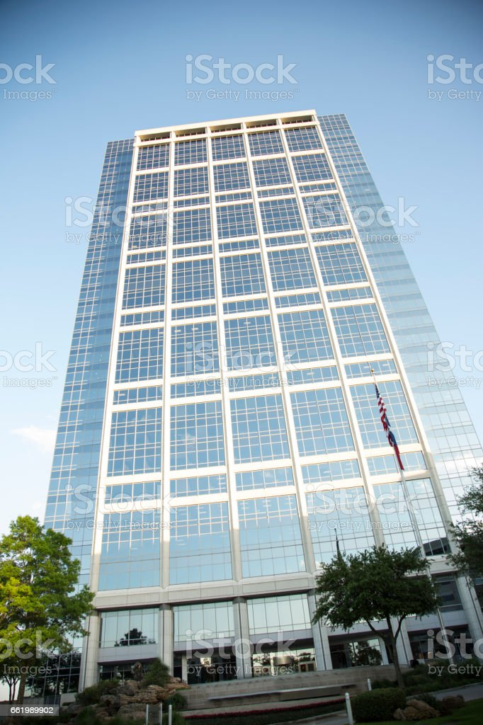 Downtown city skyscraper during day. royalty-free stock photo