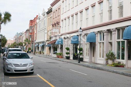 171300639istockphoto Downtown city street in Charleston, South Carolina, USA 171286003