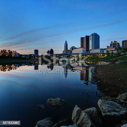 1024248138istockphoto Downtown Columbus, Ohio at dusk 537833982