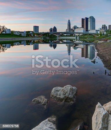 1024248138istockphoto Downtown Columbus, Ohio at dusk 538329758