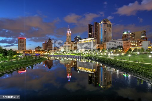 1024248138istockphoto Downtown Columbus, Ohio at dusk 576595722